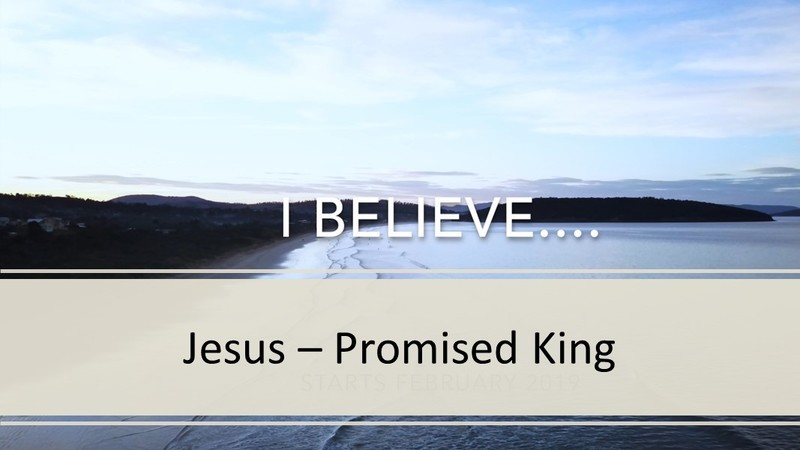 God the Son: Promised King
