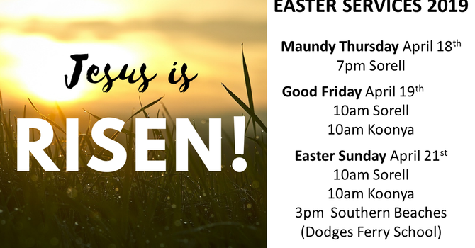Easter Services 2019 image