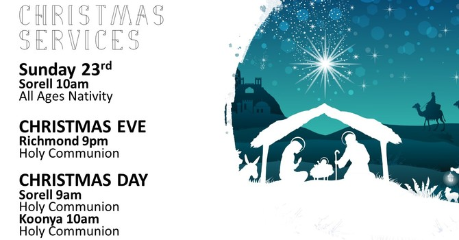 Parish Christmas Services  image
