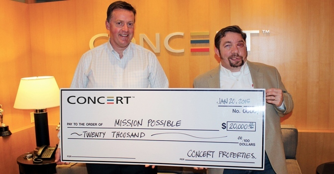 Thank you to Concert Properties Ltd. image