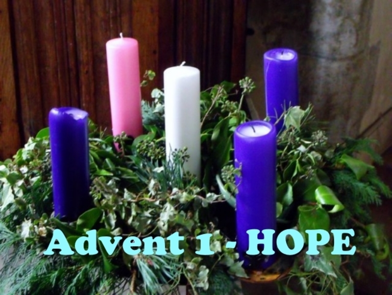 Advent 1:  Waiting and Wondering