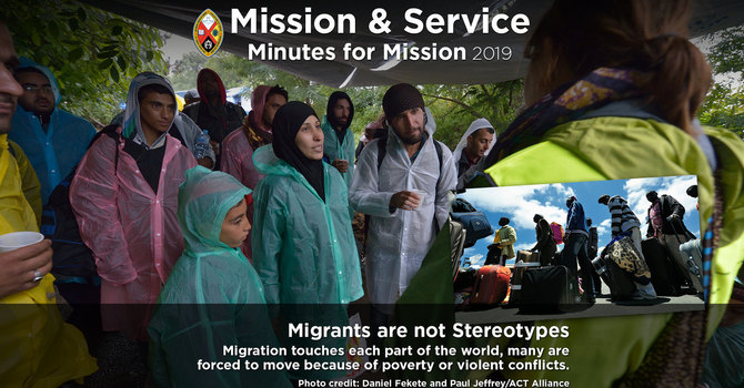 Minute for Mission: Migrants Are Not Stereotypes image