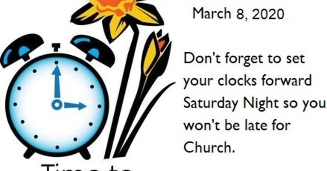 Daylight Savings Time March 8, 2020 image