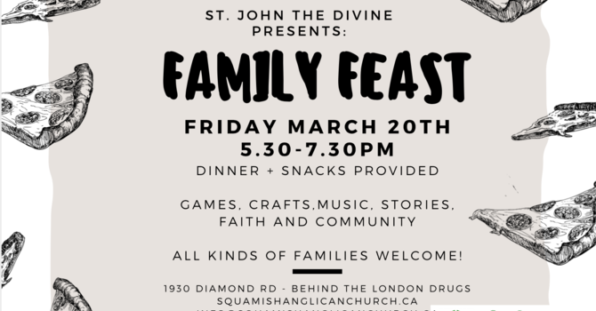 Family Feast - Cancelled image