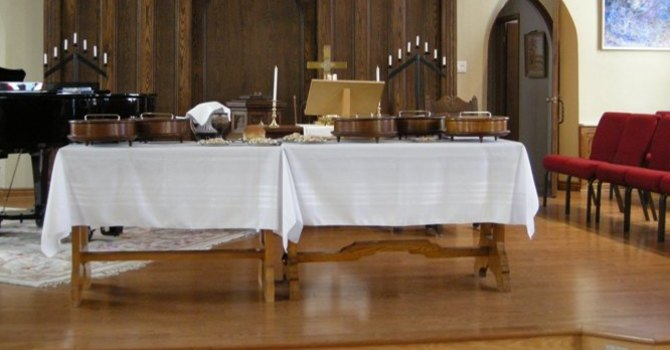 The Sacrament of Communion