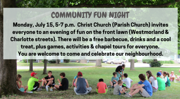 COMMUNITY FUN NIGHT!