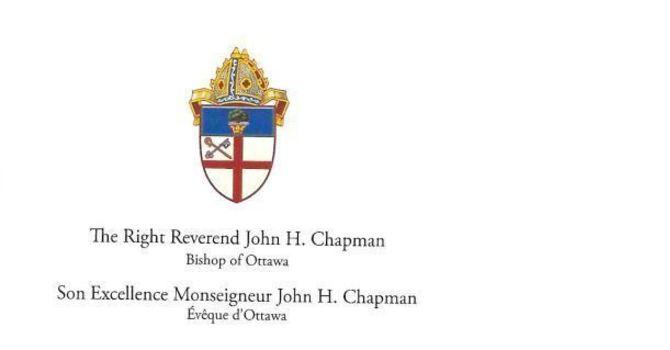 Bishop's Letter - April 3rd, 2020 image