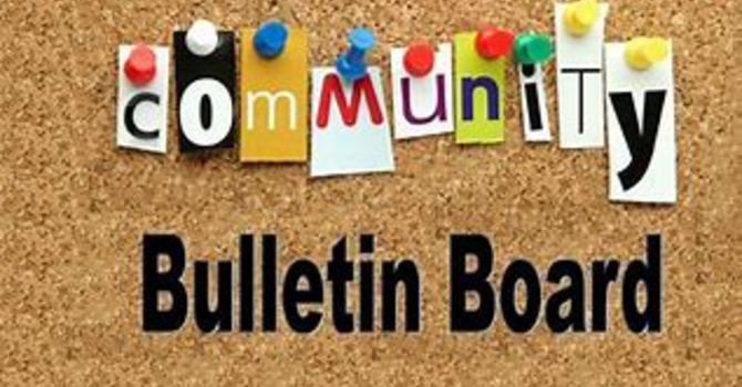 Community Bulletin Board image