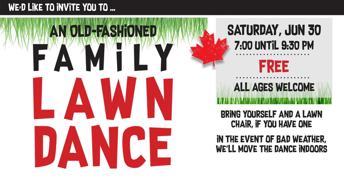 Lawn Dance (and other fun outdoor games)