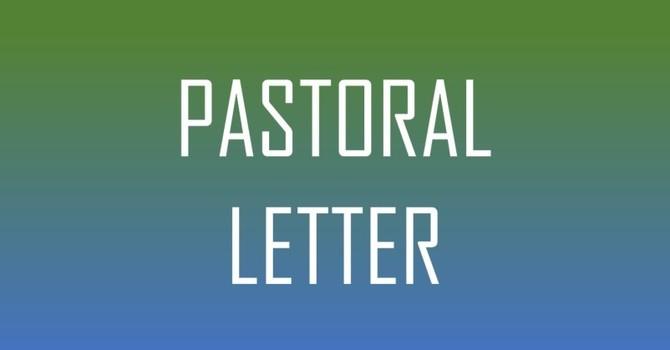 Pastoral Letter April 1, 2020 image