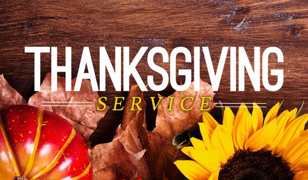 Thanksgiving Service