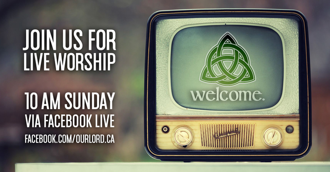 Live stream of our Sunday service! image