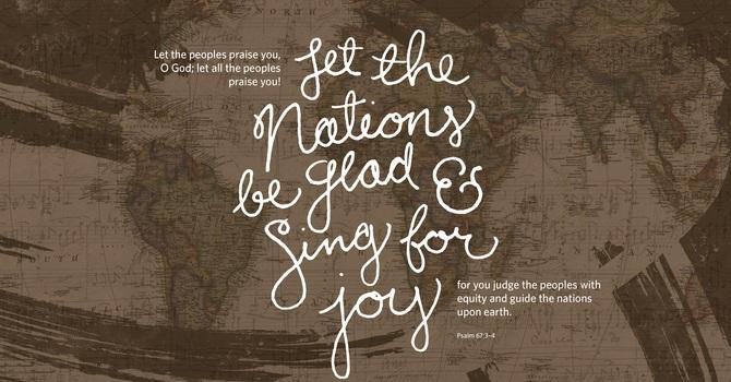 Be Glad and Glorify God image