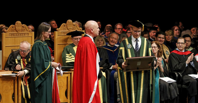 Cathedral Music Director Honoured with Doctorate Degree