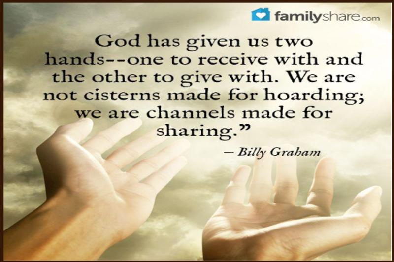 Hoarding our Love of God (S)