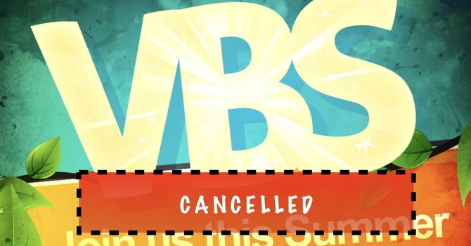 VBS 暑期兒童聖經學校取消