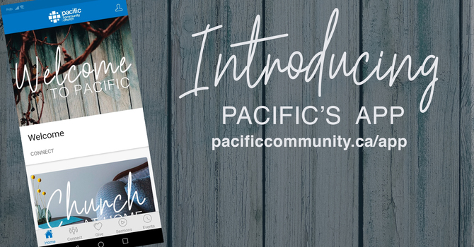 Our New Pacific APP image