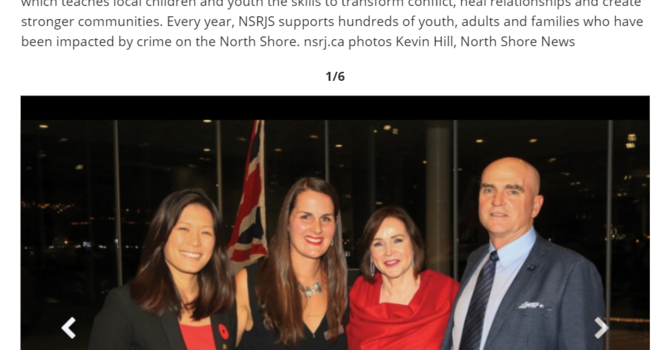 "NSRJS Fundraising Gala Featured in North Shore News ""Bright Lights"" image"