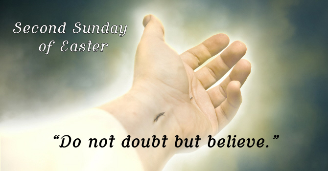 Second Sunday of Easter, On-Line Worship image