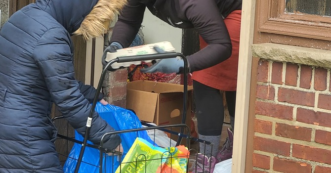 Nearly 175 Families Blessed by the Woodcliff Harvest Food Pantry image
