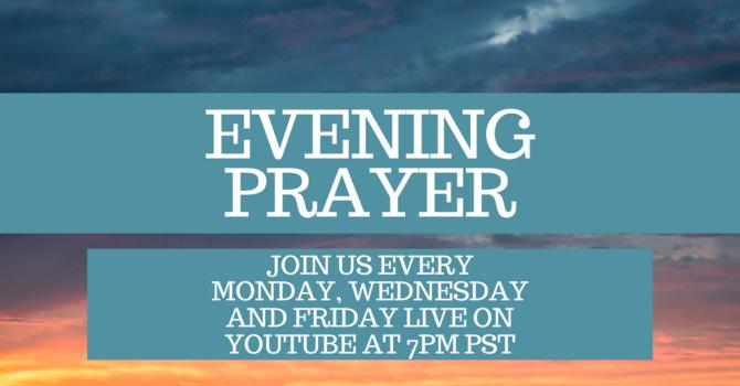 Evening Prayer *Live Streamed*