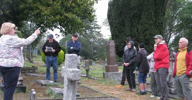 St. Luke's Invited the Community to Cemetery Tours, Open Houses,  and Cleanup Mornings image