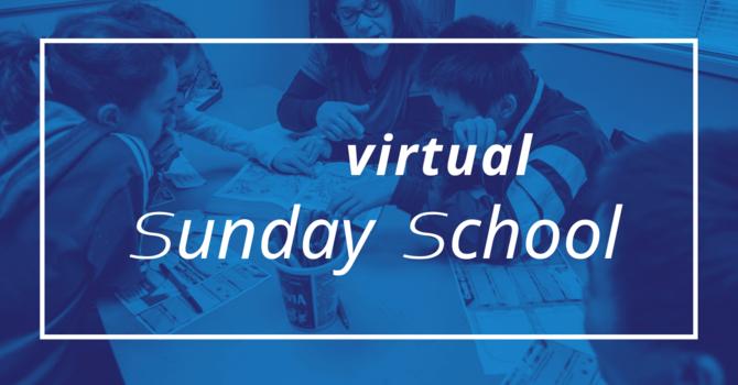 Sunday School - April 19, 2020 image