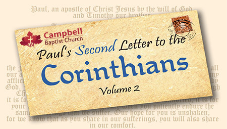 Paul's Second Letter to the  Corinthians Vol. 2