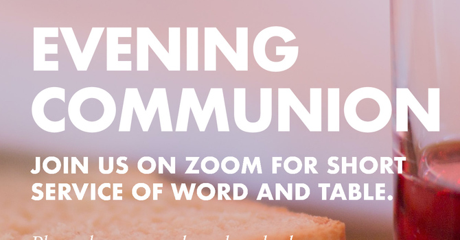 Evening Communion