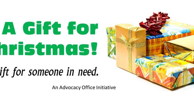 A Gift for Christmas -St Paul's Advocacy Office