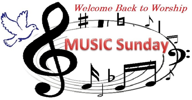 Music Sunday - welcome back! image