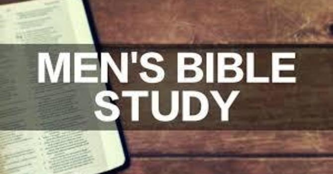 Mens Bible Study Available Now! image