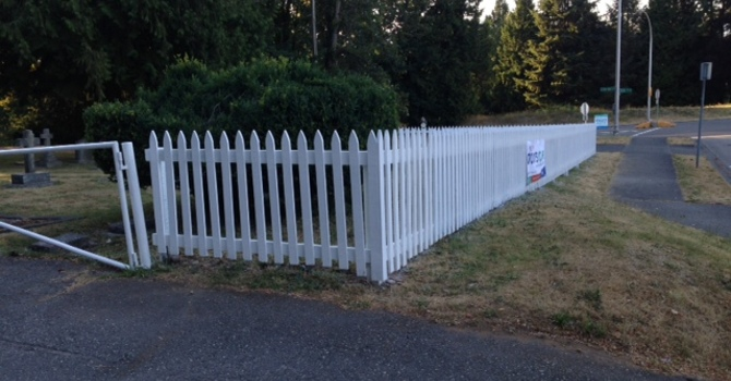 Our New Fence is Complete! image