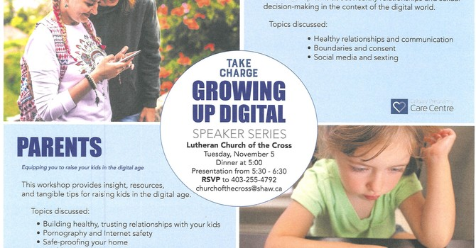 Take Charge GROWING UP DIGITAL Speaker Series image