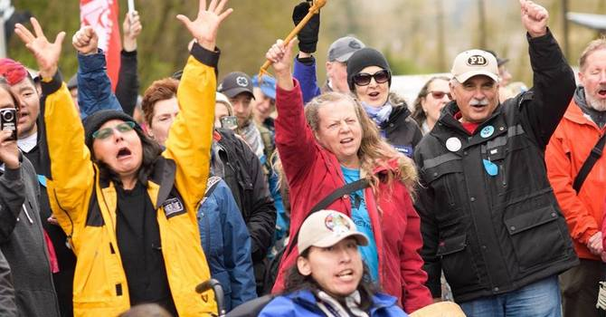 People of Faith + Friends - Kinder Morgan Protest