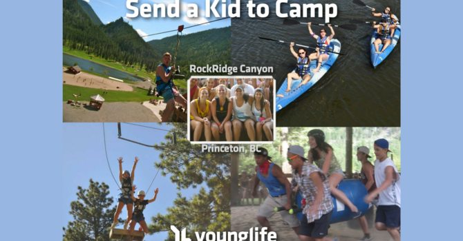 Young Life - Send A Kid to Camp! image