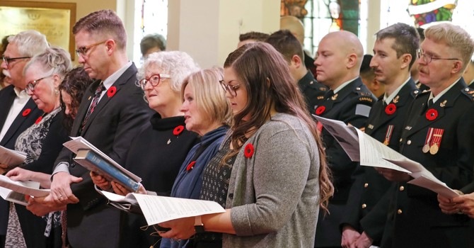 Remembrance Day Prayer Service image