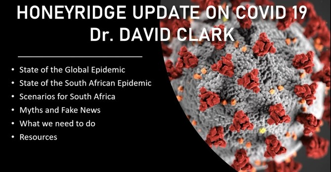 Update on COVID-19 - Dr David Clark image
