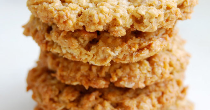 Dad's Oatmeal Coconut Cookies image