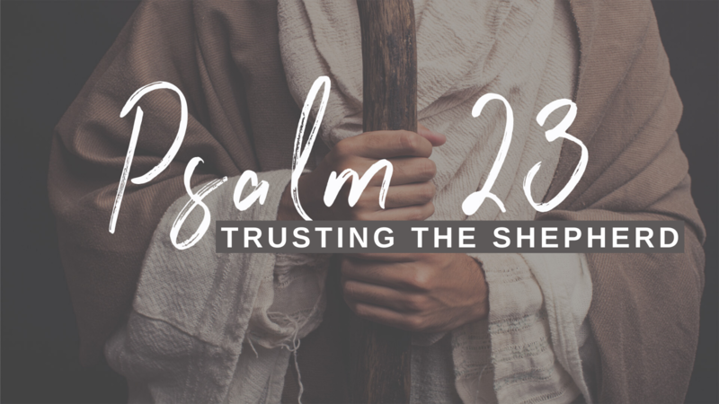Psalm 23 (Week One)