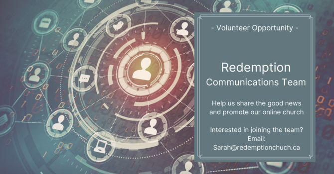 Join Our Volunteer Communications Team image