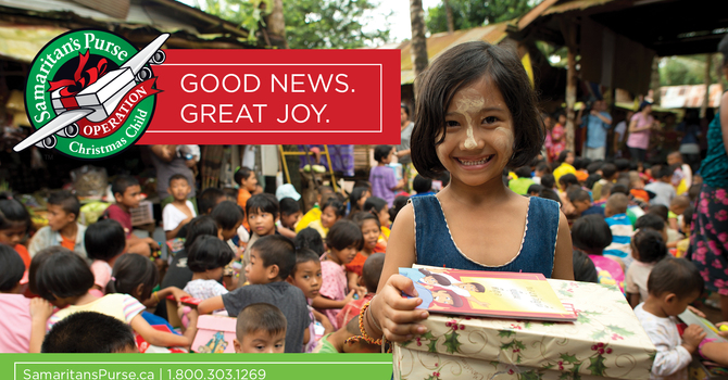 Operation Christmas Child - Get your supplies now! image