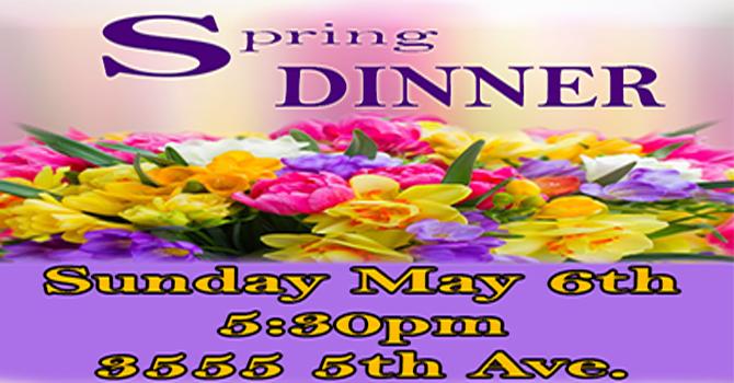 Annual Spring Dinner image
