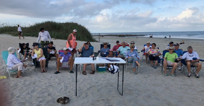 Update: Worship on the Beach, 2020 image