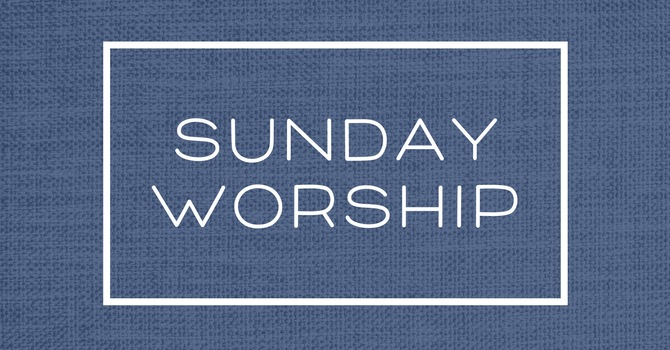 LIVE stream & In-Person Worship Service