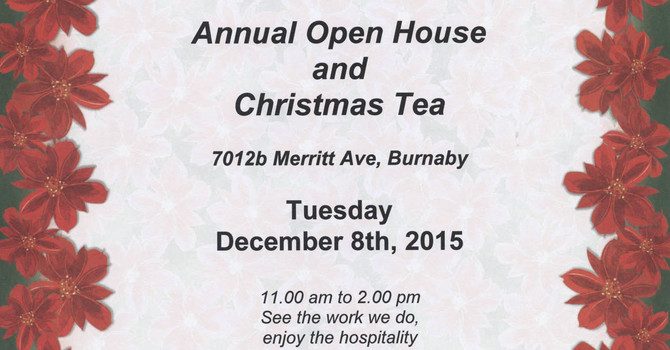 ACW Open House and Christmas Tea