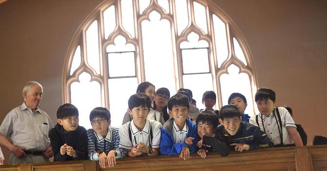 Kwansei Gakuin Students Visit image