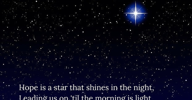 Advent Carol ~ Hope is a Star  image