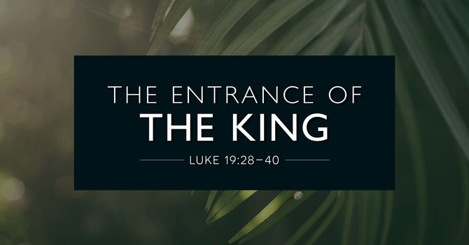 The Entrance of the King