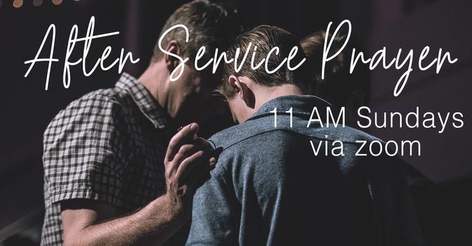 After Service Prayer